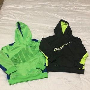 Boys Nike Hooded Sweatshirts